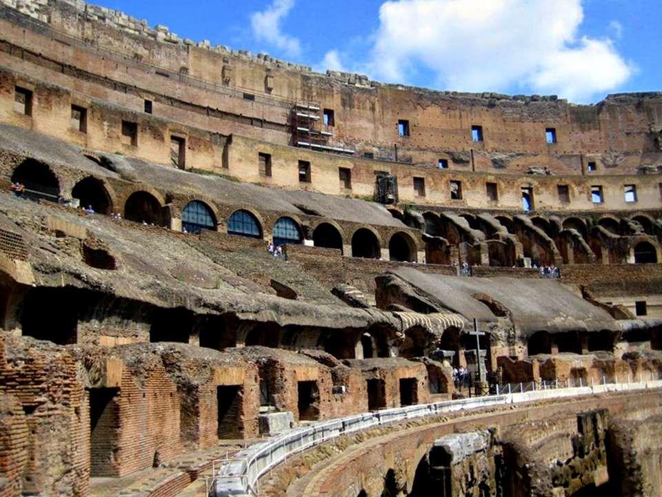 Kolezyum (Colesseo)'un İç Görüntüsü-Roma