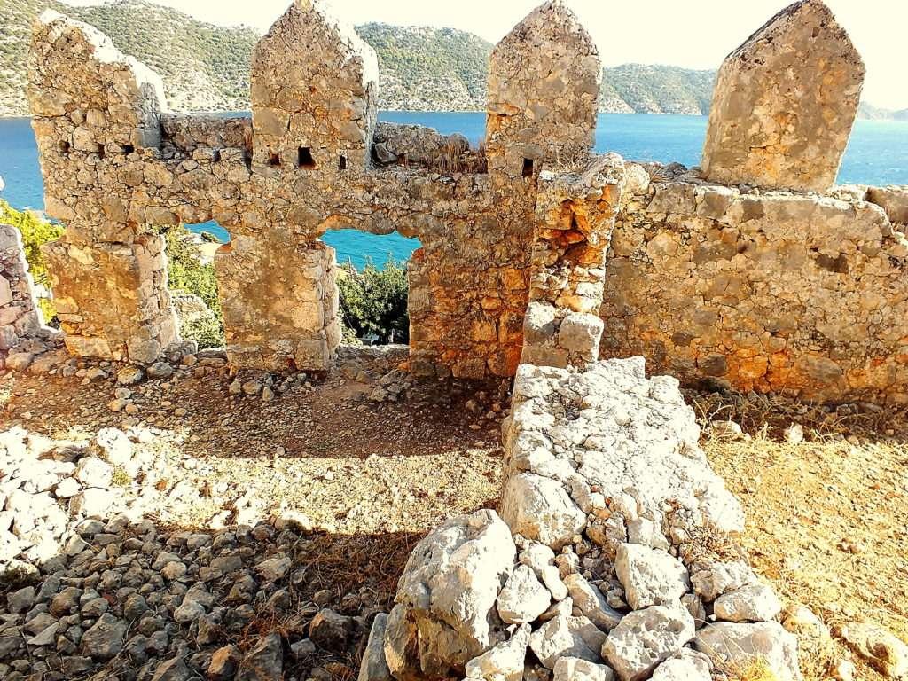 Kaleköy Simena Kalesi'nden Kekova Adası