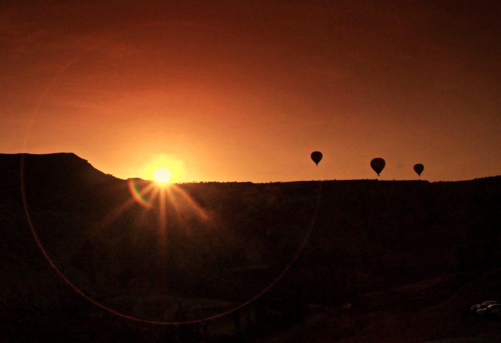 Kapadokya'da Balonlar Havalanıyor