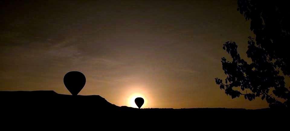Kapadokya Balon-Siluet