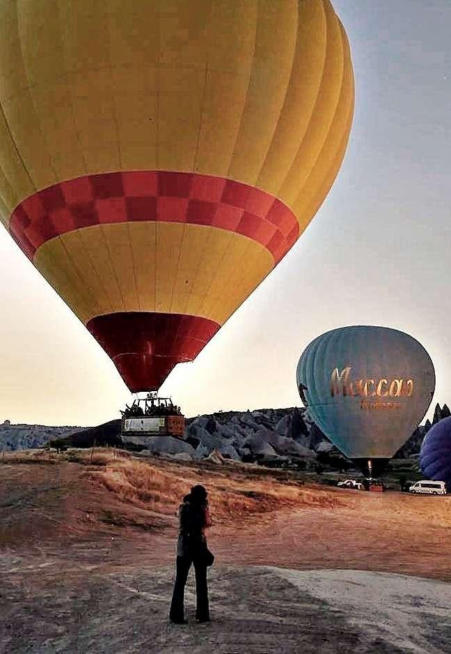Kapadokya Balon-Fotoğraf: Ramazan Kamarı