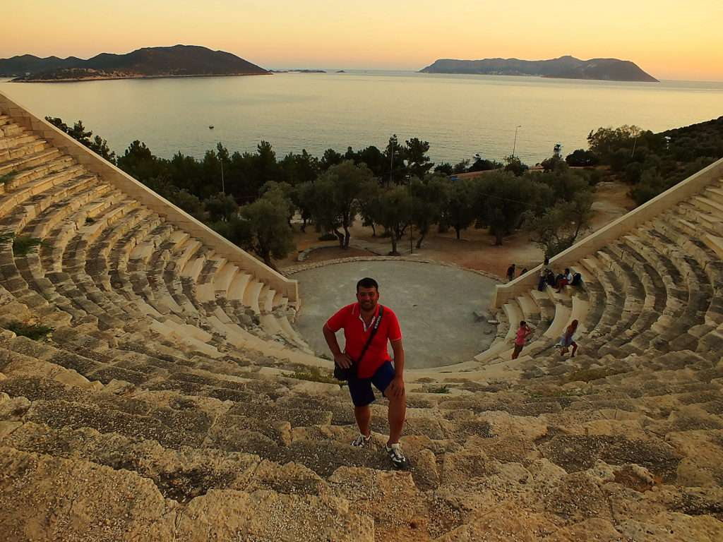 Kaş Antiphellos Antik Tiyatrosu