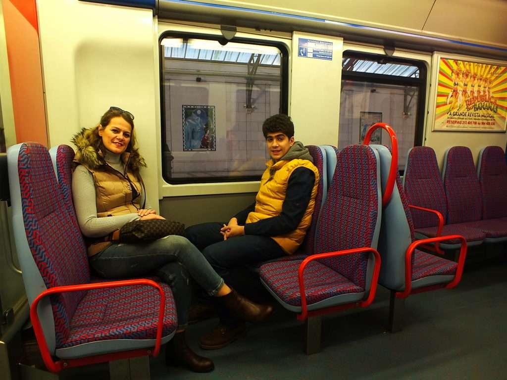 Lizbon-Sintra Treni