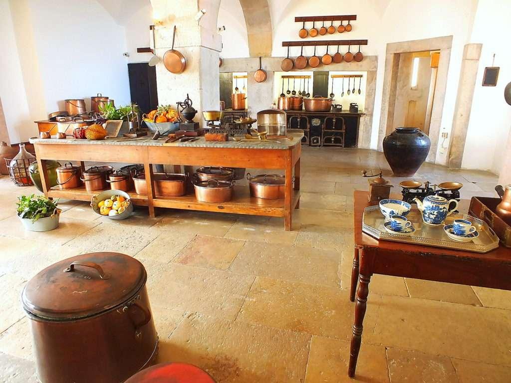 Pena Sarayı (Palácio da Pena)'nın Mutfağı