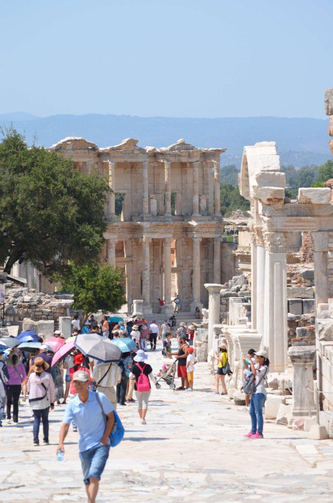 Efes Antik Kenti Celsus Kütüphanesi