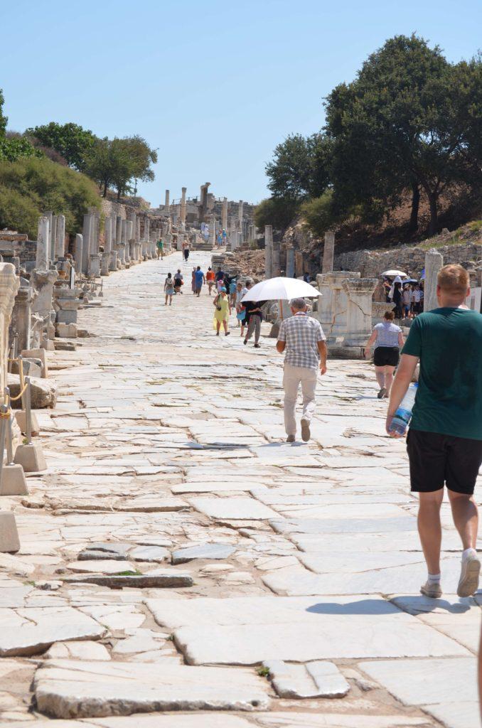 Efes Antik KentiKuretler Caddesi