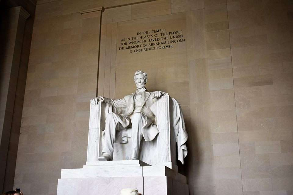 Washington DC The Lincoln Memorial