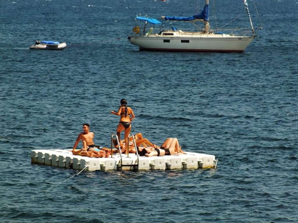 Sığacık Plajları Mavi Teos Sitesi Plajı