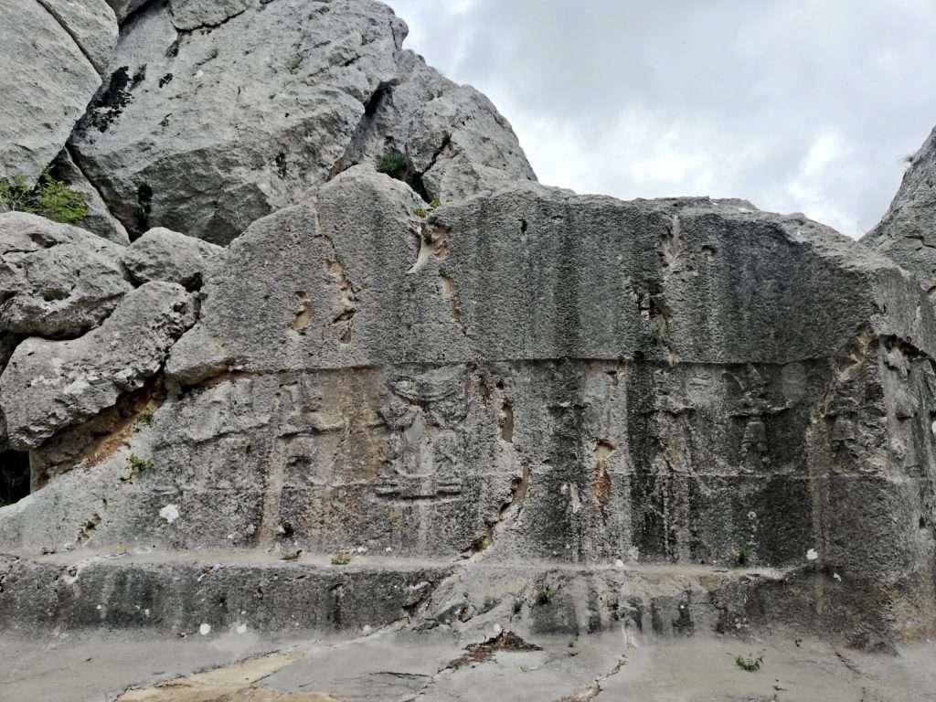 Kuzey Duvarı Rölyefleri-Yazılıkaya
