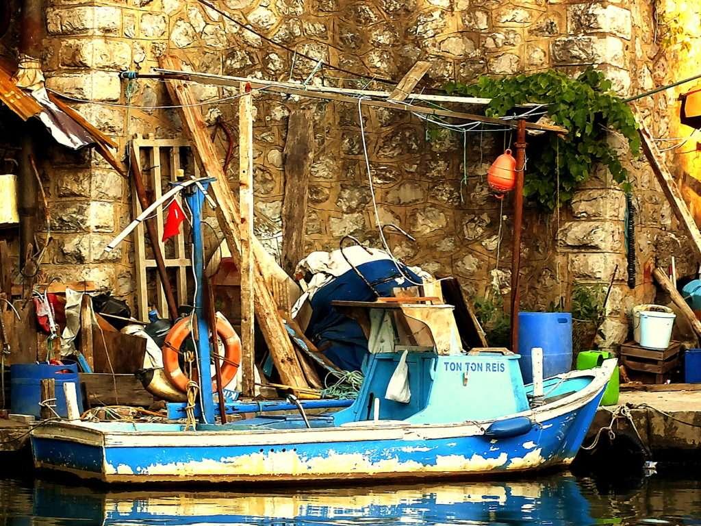 Göksu Köprüsü Göksu Deresi Balıkçıları