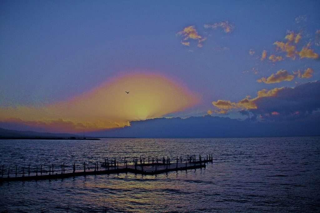 Beyşehir Gölü'nde Gün Batımı