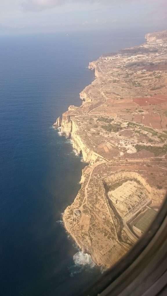 Uçaktan Malta Adası