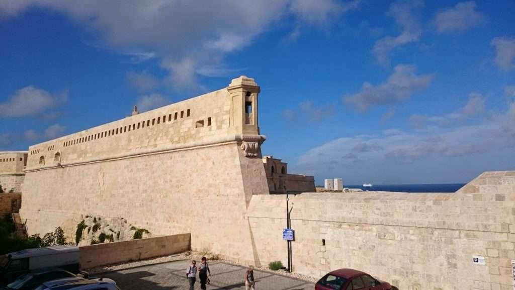 Malta Adası Fort St Elmo