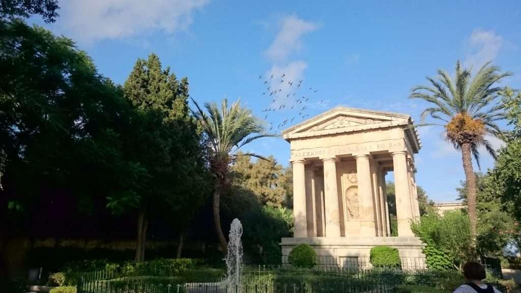 Malta Adası Lower Barrakka Gardens