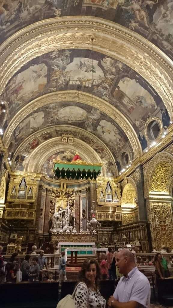 Malta Adası Mattia Preti'nin Meşhur Duvar Freski