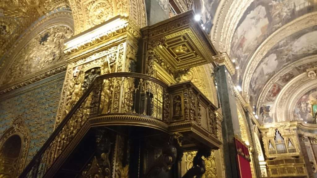 Malta Adası Aziz John Yarı Katedrali (St John's Co Cathedral)