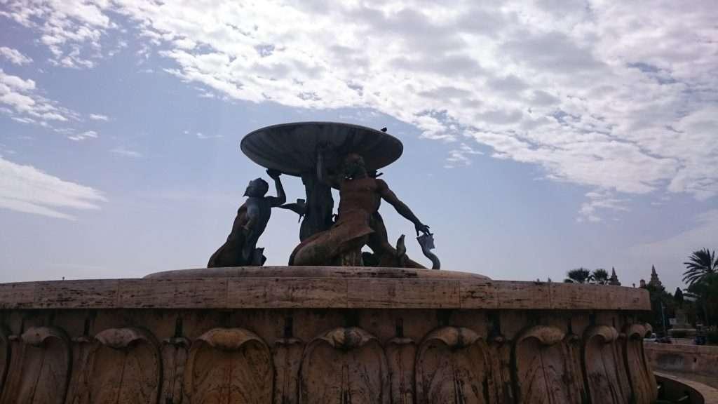 Malta Adası Valletta Meydan Fıskiyesi