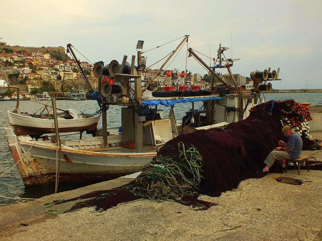 Kavala Limanı Balıkçılar