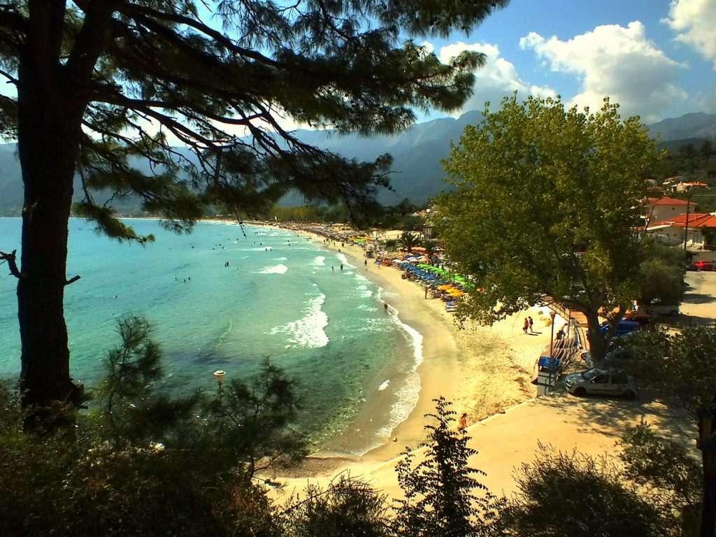 Kavala Gezisi Taşoz Adası (Thassos-Θάσος) Goşden Beach
