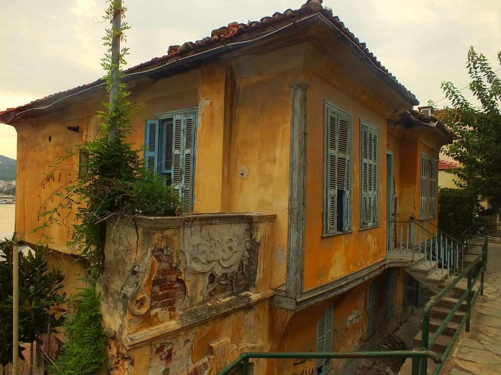 Kavala Gezisi (Καβάλα) Eski Bir Ev