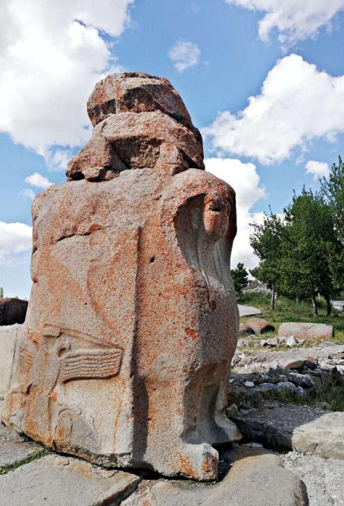 Kuzey Sfenks Bloğu-Alacahöyük