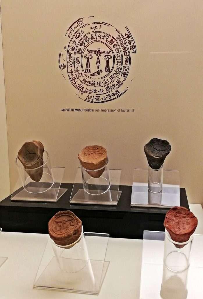 Hitit Kral Mühürleri Baskı- Boğazköy Müzesi