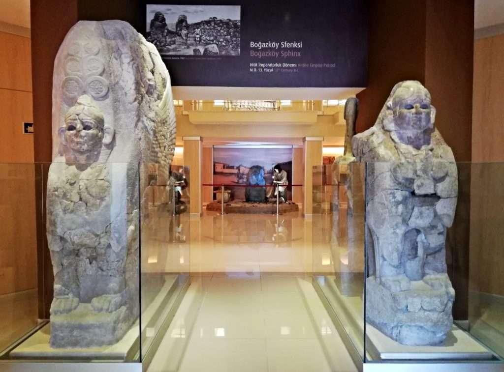 Hattuşaş Şehir Kapısı Sfenksleri - Boğazköy Müzesi