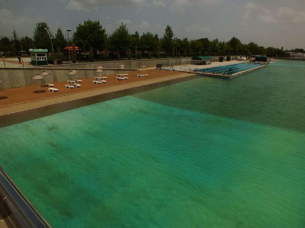 Eskişehir Kentpark Yapay Plajı