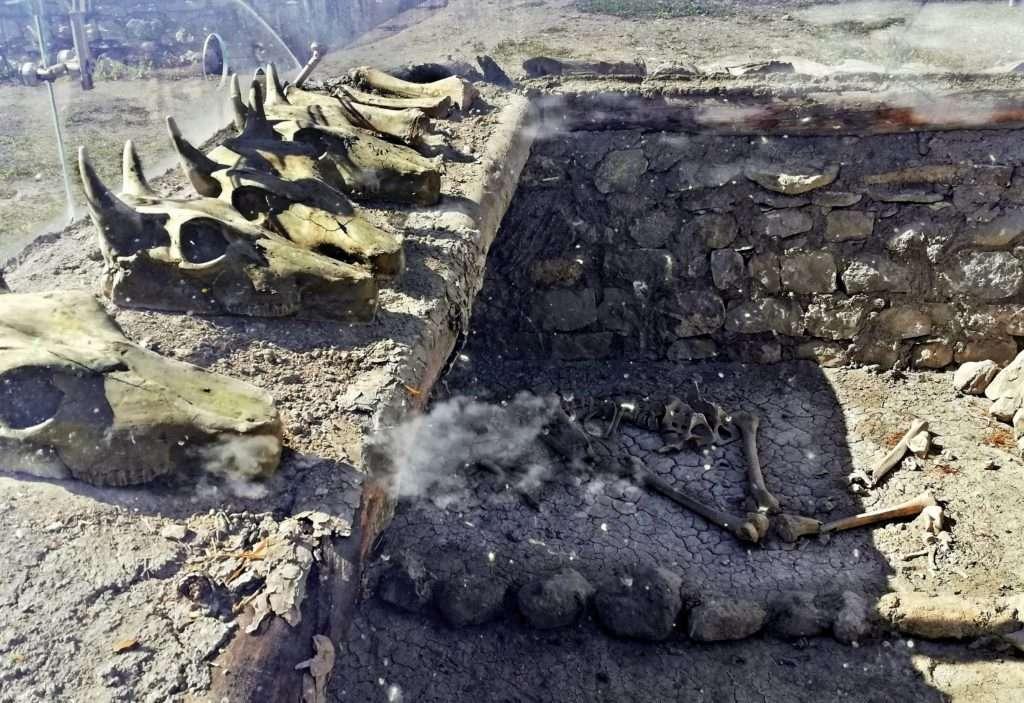 Restorasyon Sonrası Hatti Kral Mezarı- Alacahöyük Antik Kenti