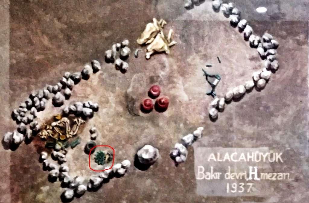 Orijinal Hatti Kral Mezarı Fotoğrafı- Alacahöyük Müzesi
