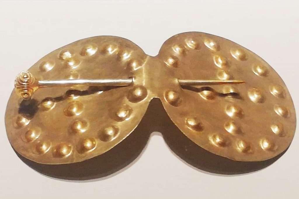 Altın Elbise İğnesi- Alacahöyük