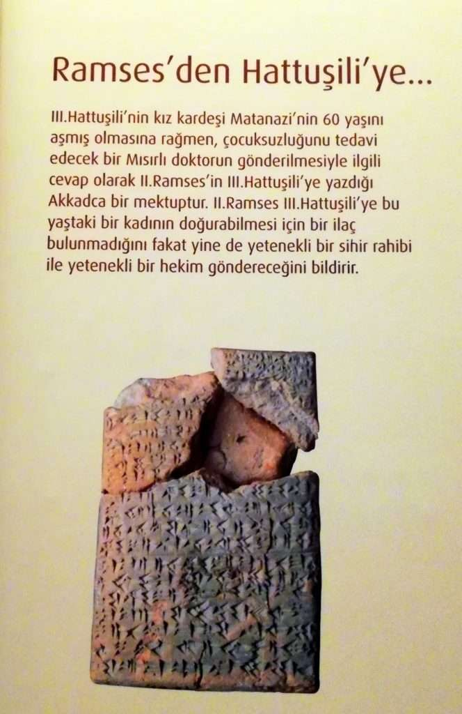 Firavun'dan Hitit İmparatoru'na Mektup - Çivi Yazılı Tabletler