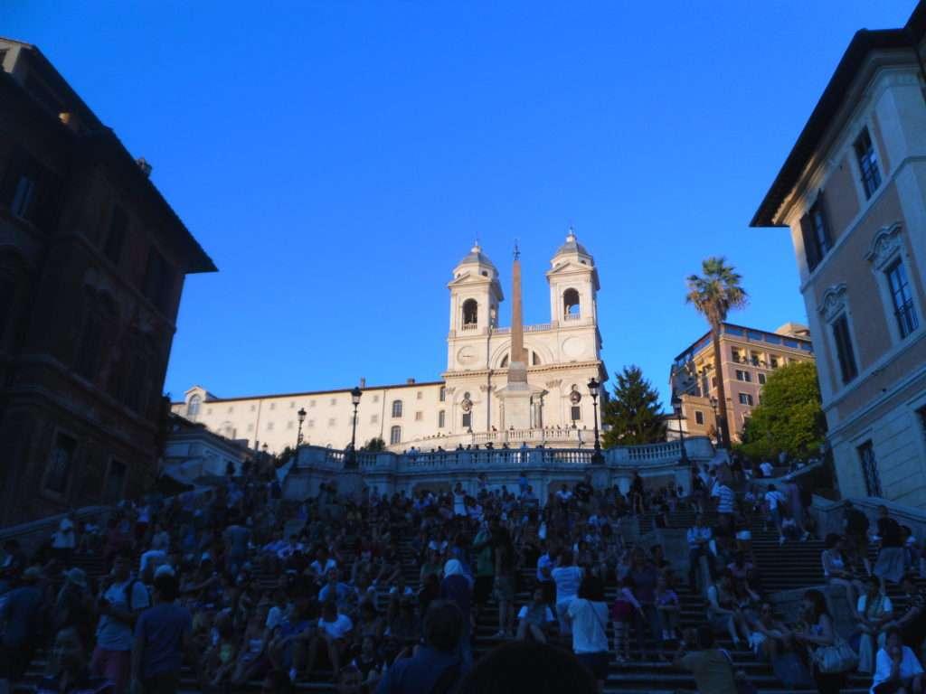 Kısa Roma Gezi Rehberi Gölgede İspanyol Merdivenleri