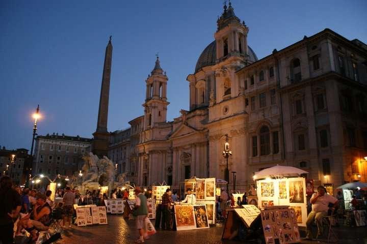 Kısa Roma Gezi Rehberi Piazza Navona (Navona Meydanı)