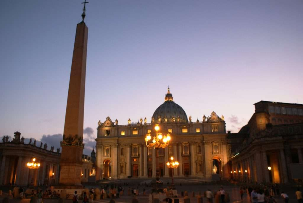 Vatikan'da Gece