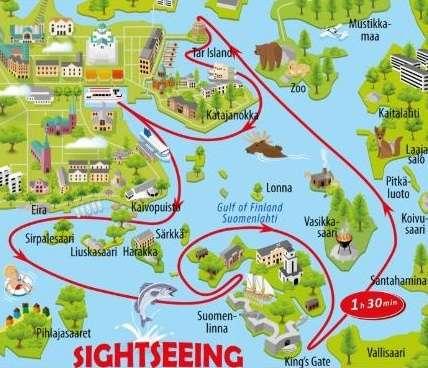 Helsinki Tekne Turu Güzergahı