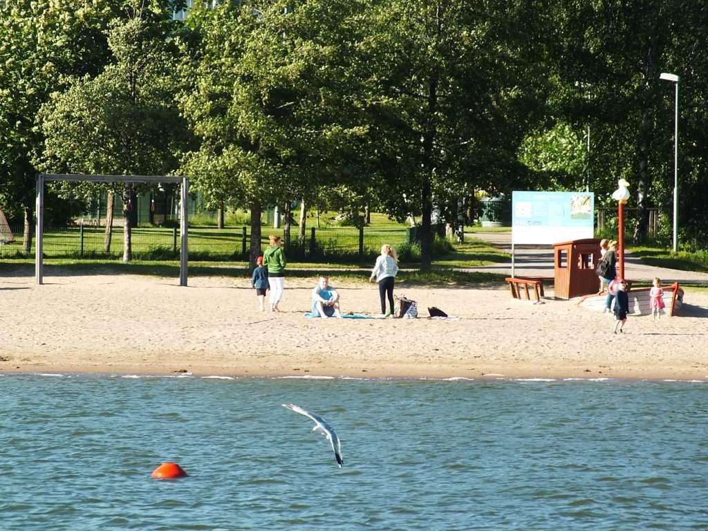 Tuorinniemi Plajı