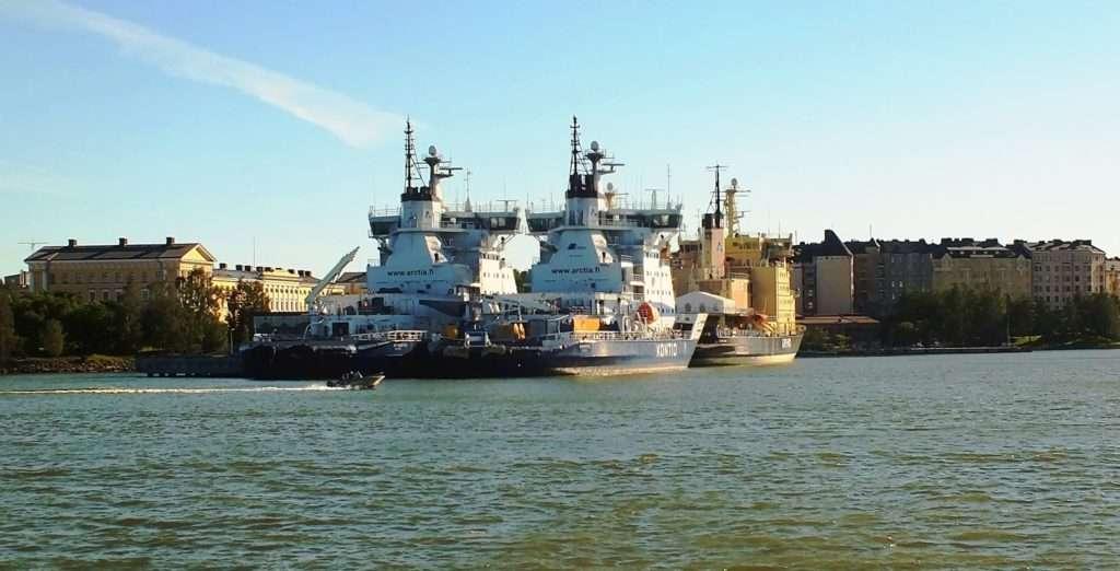 Helsinki Tekne Turu Buz Kıran Filosu