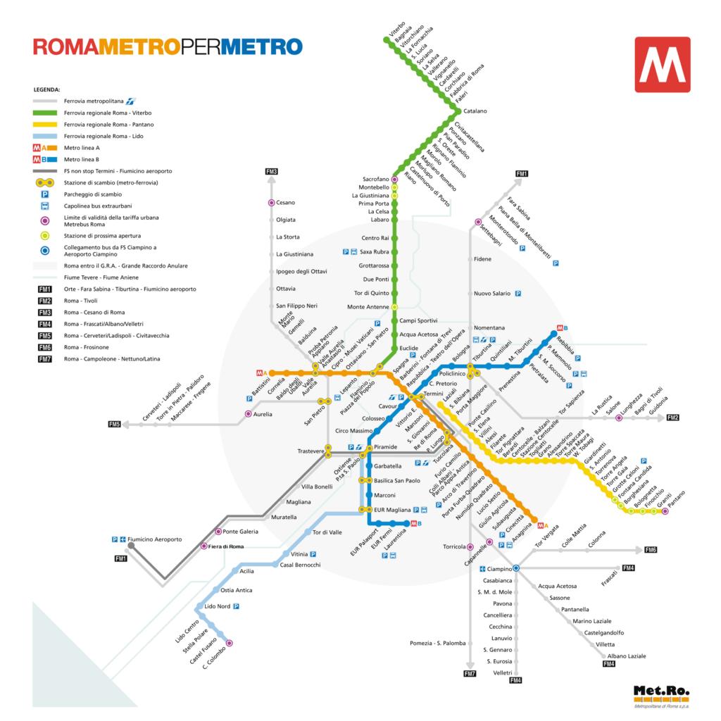 Roma Metro Haritası