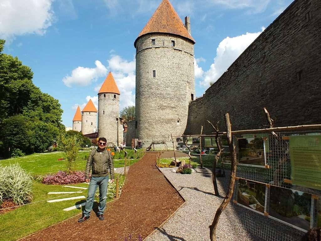 Nunna Torn, Sauna Torn, Kuldjala Torn (Tallinn Şehir Surları Nunna, Sauna ve Kuldjala Kuleleri)