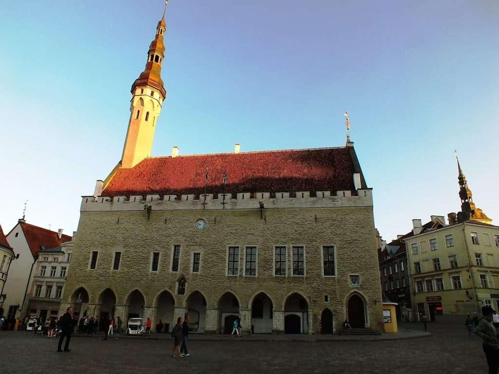 Tallinna Raekoda(Tallinn Belediye Binası)