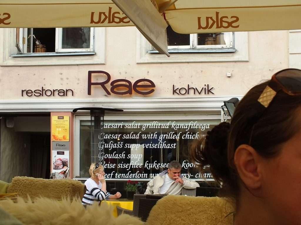 Rae Restoran & Kohvik Tallinn'de Ne Yenir? Nerede Yenir?