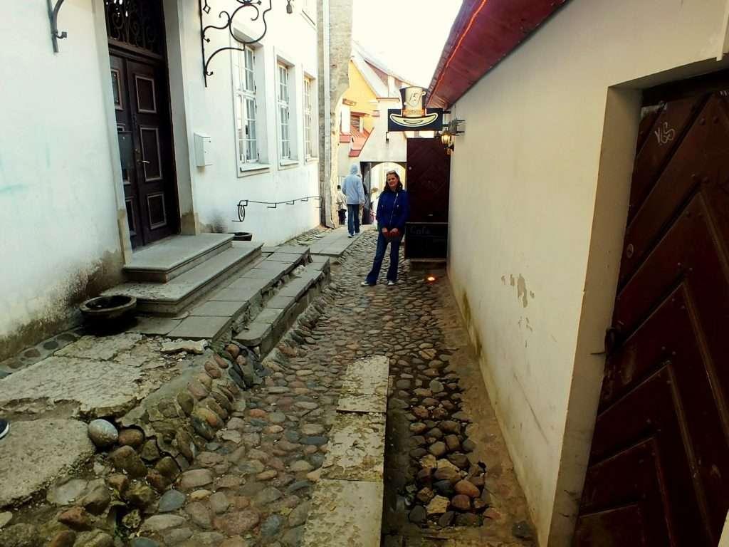Pikk Jalg(Uzun Bacak Sokağı)