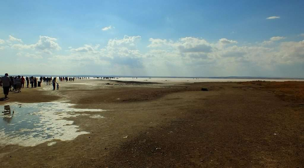 Yaz Ortasında Tuz Gölü