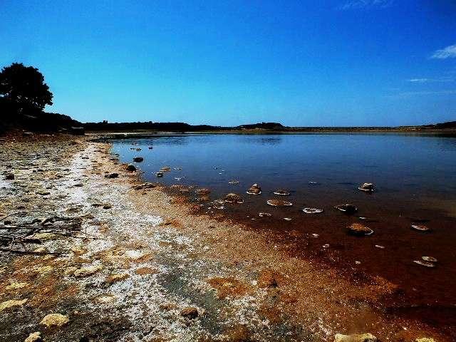 Alexandria Troas Antik Kenti İç Liman (Pembe Göl)