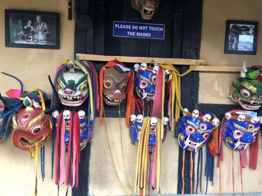 Ünlü Bhutan Maskeleri