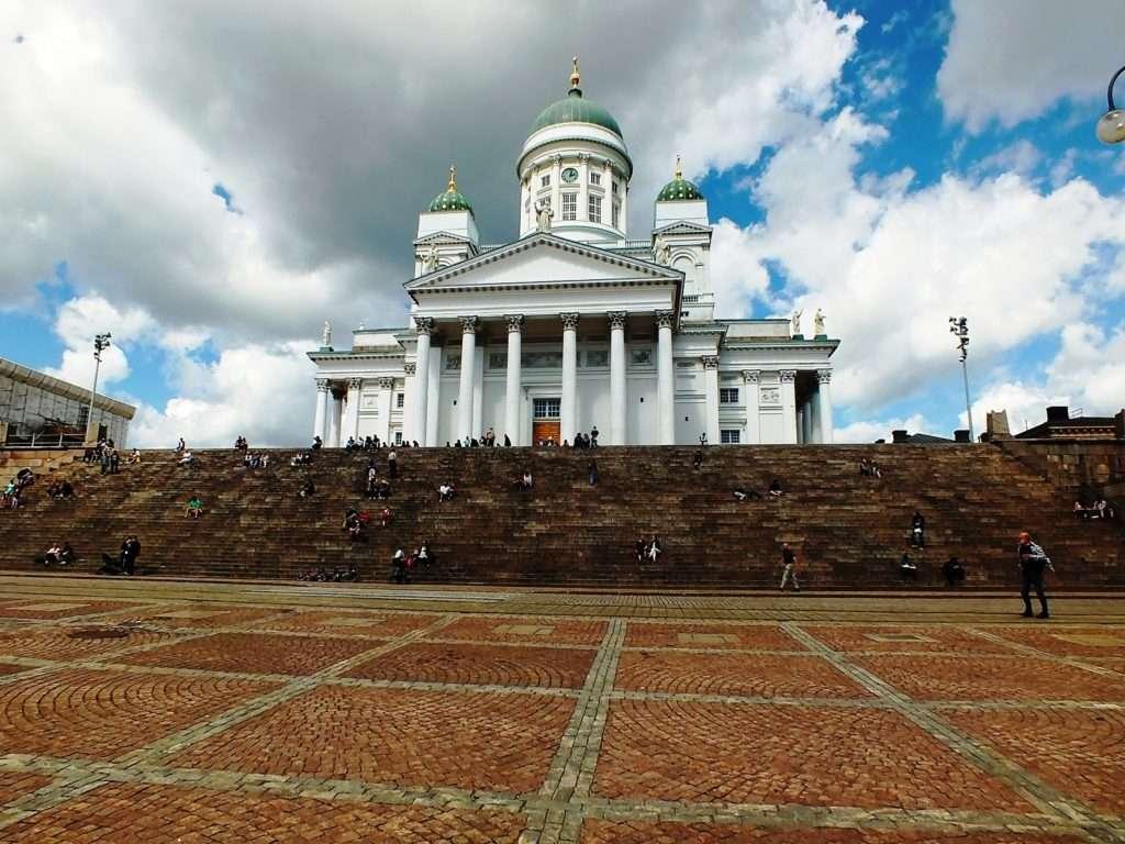 Helsinki Old Town Helsingin Tuomiokirkko (Helsinki Katedrali)