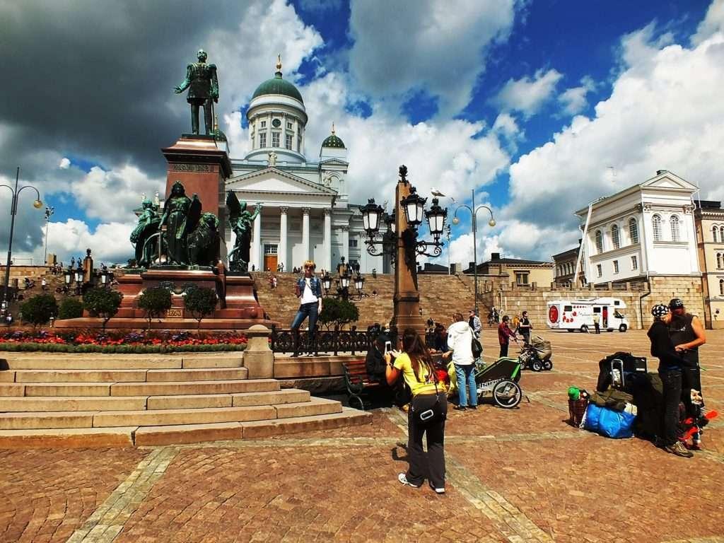 Helsinki Old TownSenaatintori (Senato Meydanı)