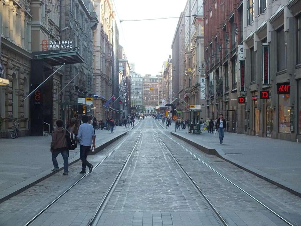 Aleksanterinkatu Caddesi