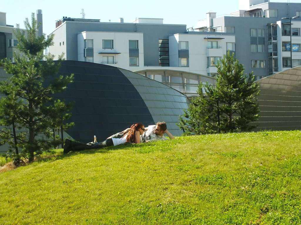 Helsinki'de Bir Park